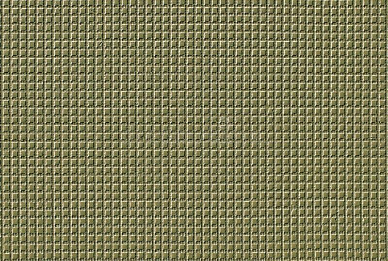 绿色被编织的西沙尔麻或天然纤维地毯纹理和背景 家具的织品 免版税图库摄影