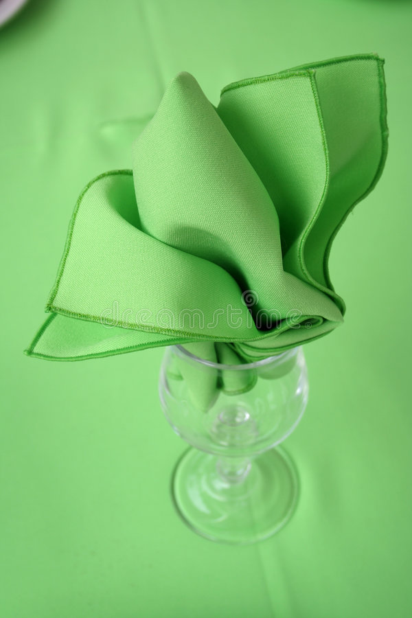 绿色集合表 库存图片