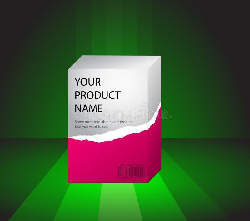 绿色预览产品 免版税库存图片
