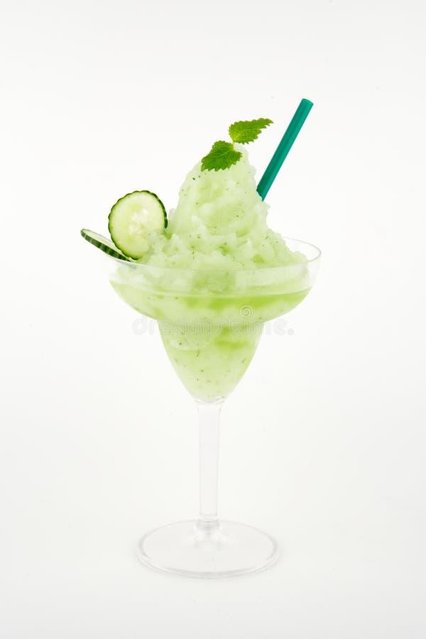 绿色饮料 库存图片