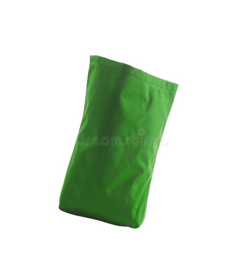 绿色,可再用的袋子 免版税库存图片