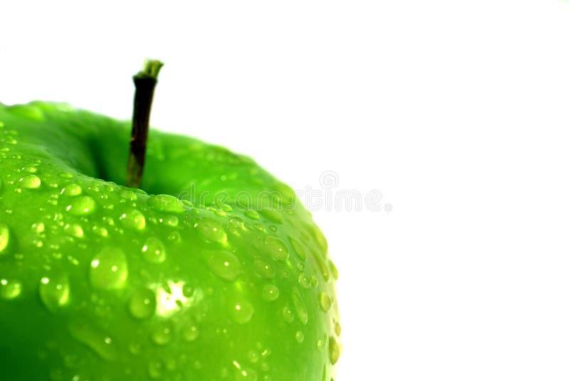 绿色Apple 2 免版税库存照片