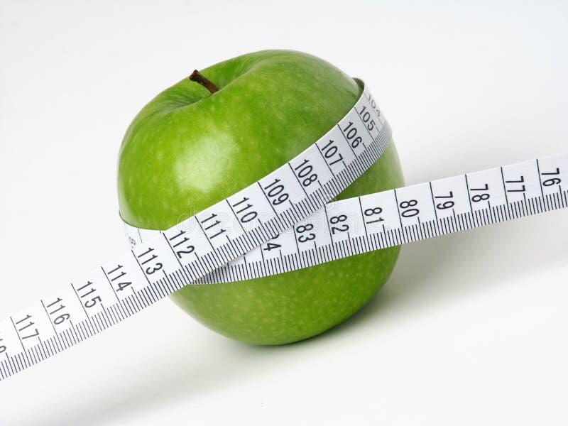 绿色Apple 免版税库存照片