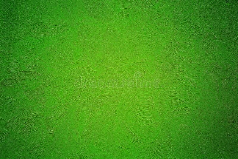 绿色grunge油漆背景 库存照片