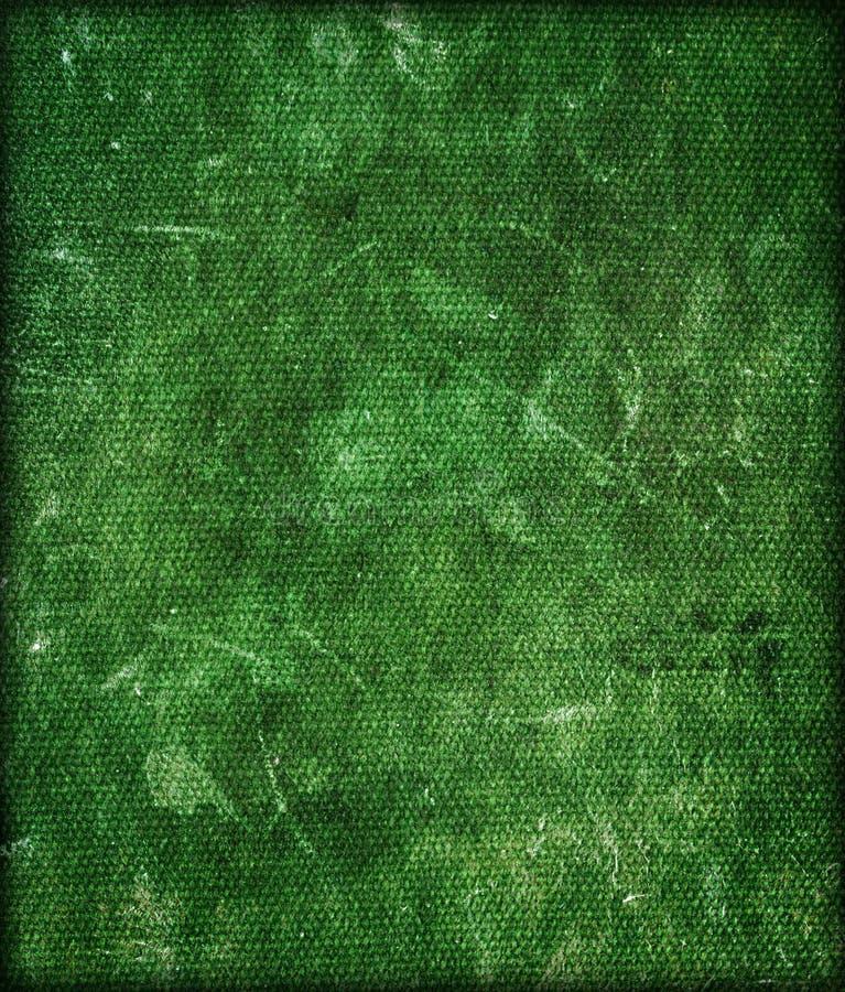 绿色grunge纹理 免版税库存照片
