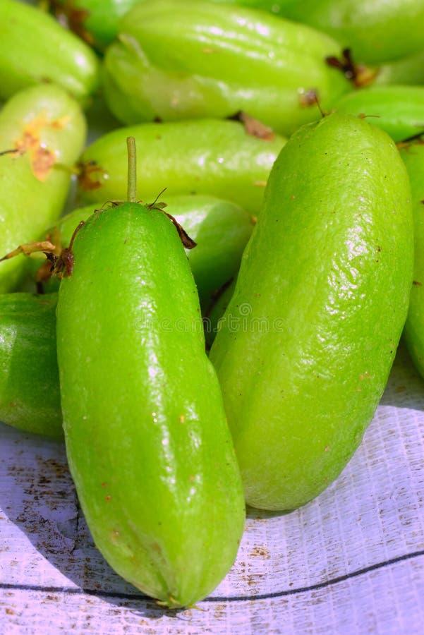 绿色Starfruit酸II 库存图片