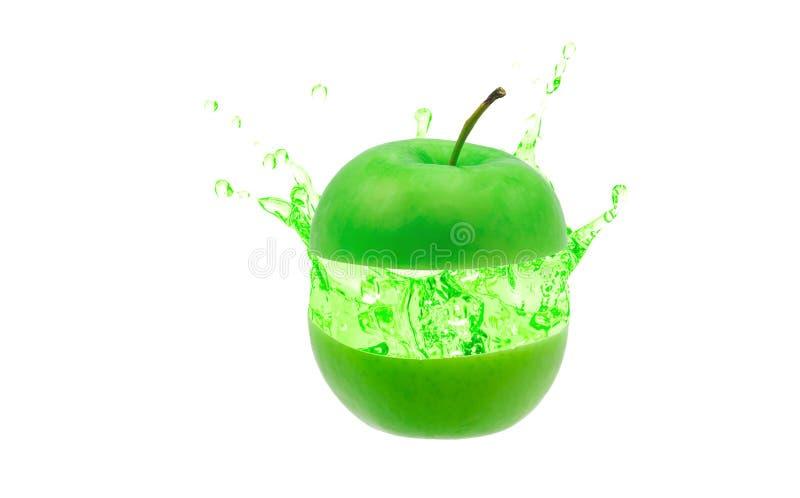 绿苹果 库存照片
