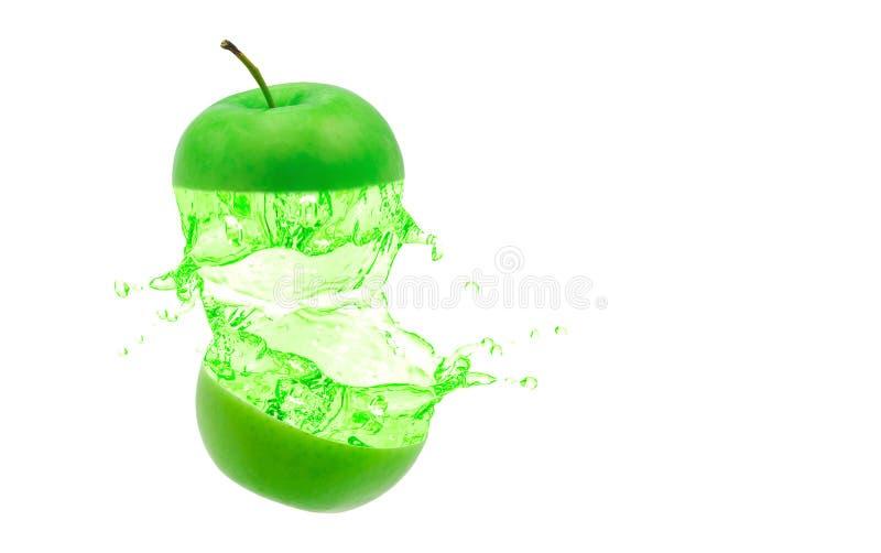 绿苹果 免版税库存照片