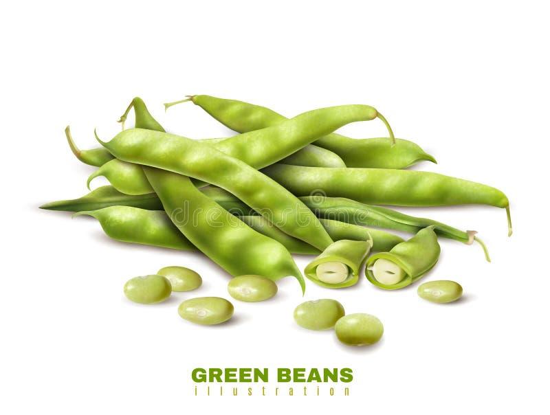 绿豆现实图象 库存例证