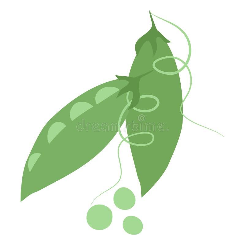 绿豆的传染媒介例证 皇族释放例证