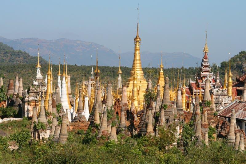 缅甸上色缅甸 免版税图库摄影