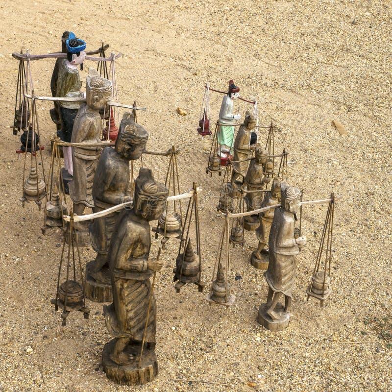 从缅甸的纪念品 免版税库存照片