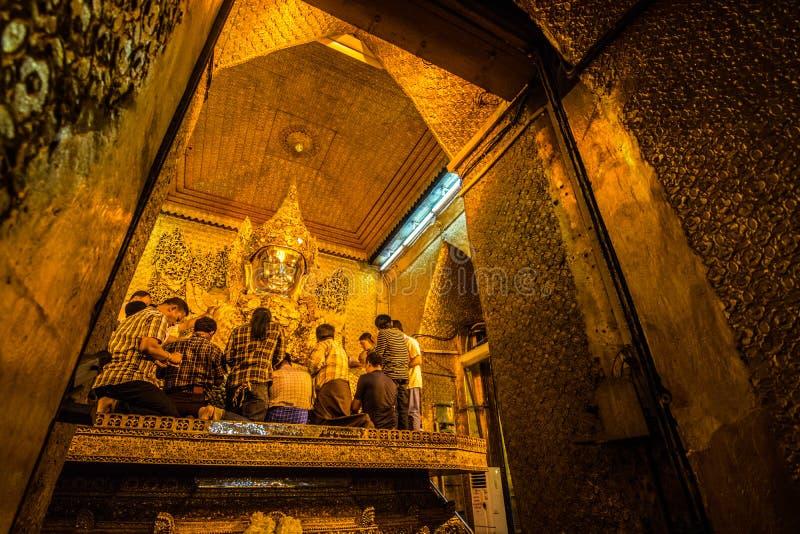 缅甸的菩萨 库存照片