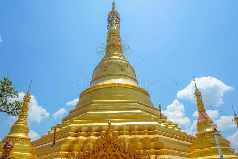 缅甸的Goldden塔 库存图片