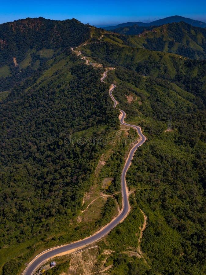 缅甸若开邦妙乌的风景 免版税库存照片
