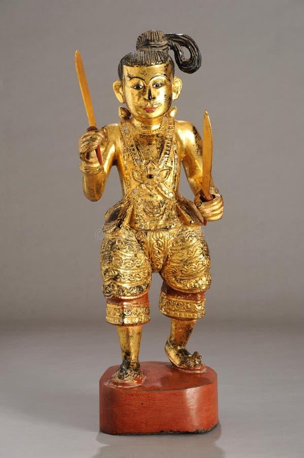 缅甸雕象nat 免版税图库摄影