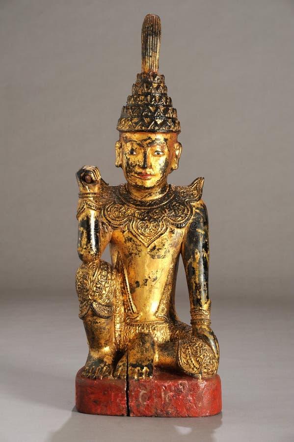 缅甸雕象nat 免版税库存图片