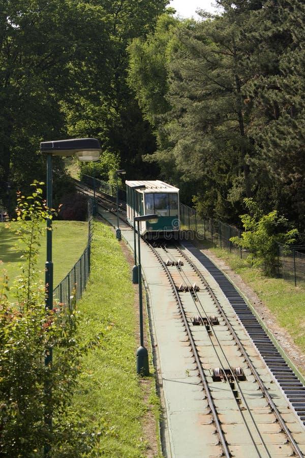 缆索铁路的布拉格 免版税库存照片