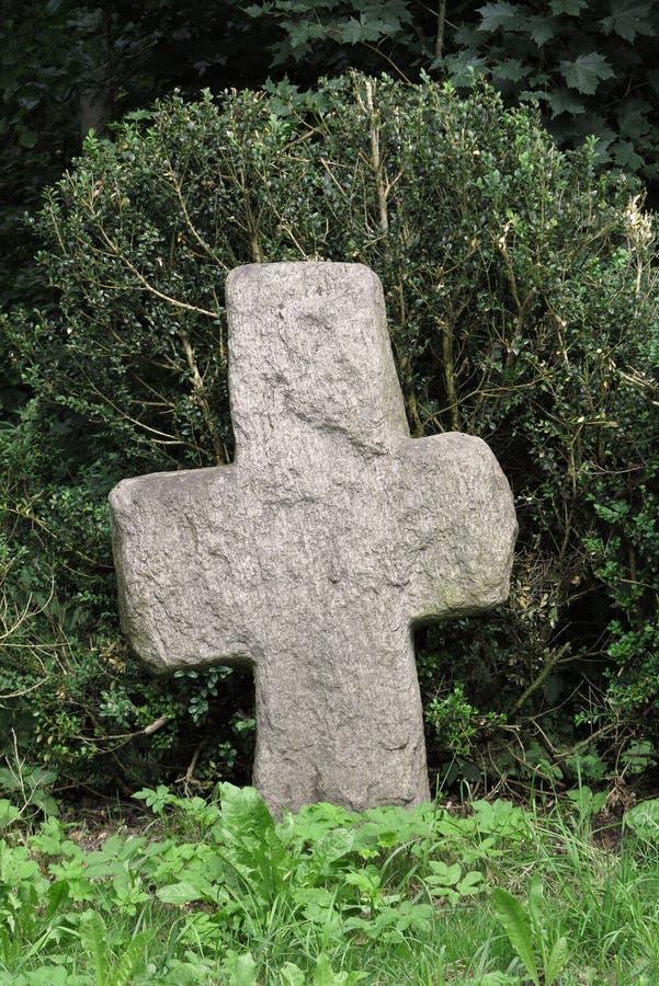缓和十字架 免版税库存照片