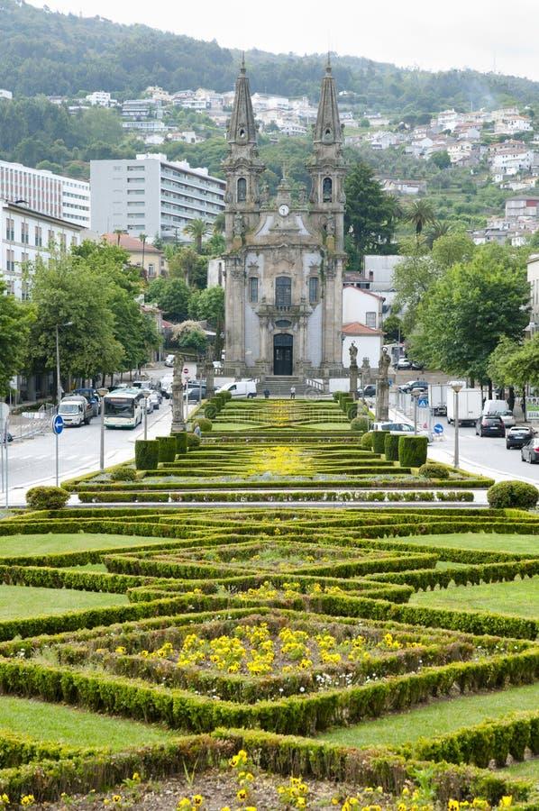 缓慢Republica庭院做巴西-吉马朗伊什-葡萄牙 库存照片
