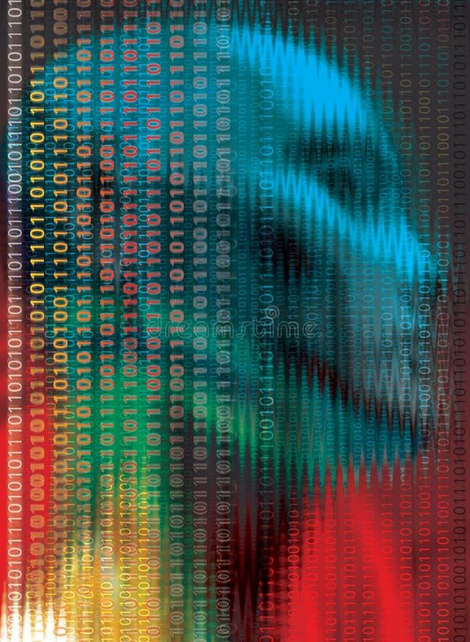 编码技术 库存例证