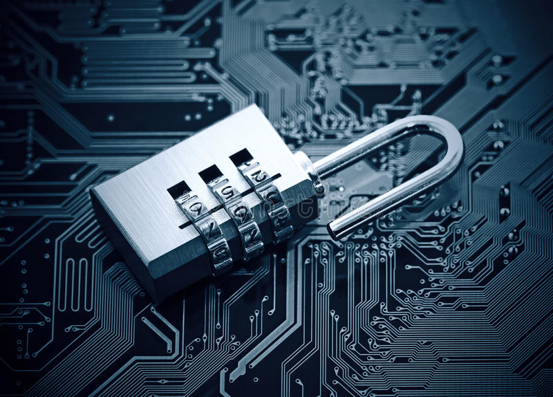 编码计算机概念程序证券病毒 免版税库存图片