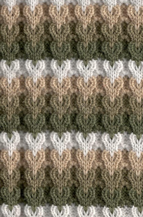 编织的模式 免版税库存照片