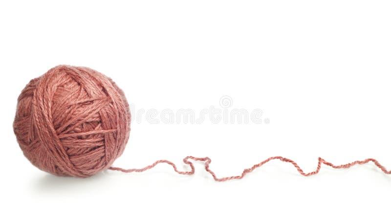 编织的纱线 免版税库存图片