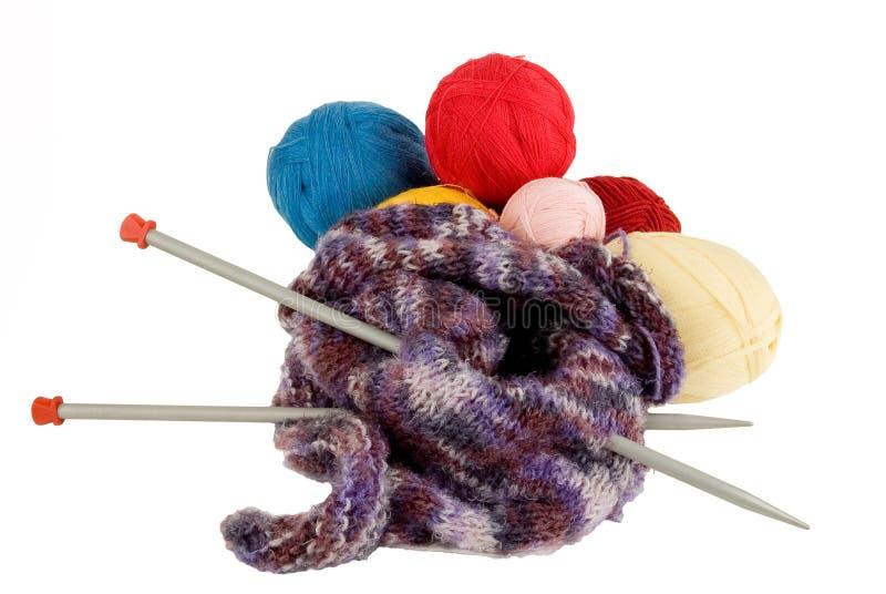 编织的纱线 库存照片