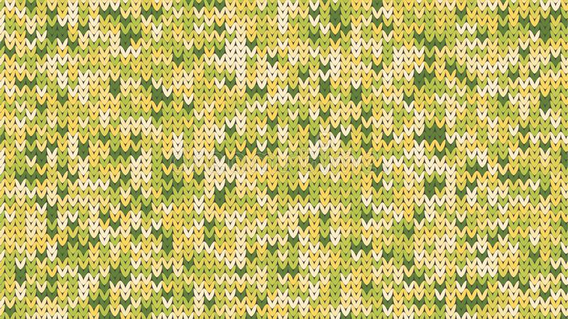 编织的纹理 冬天毛线衣假日设计 与空的空间的编织背景文本的 也corel凹道例证向量 皇族释放例证