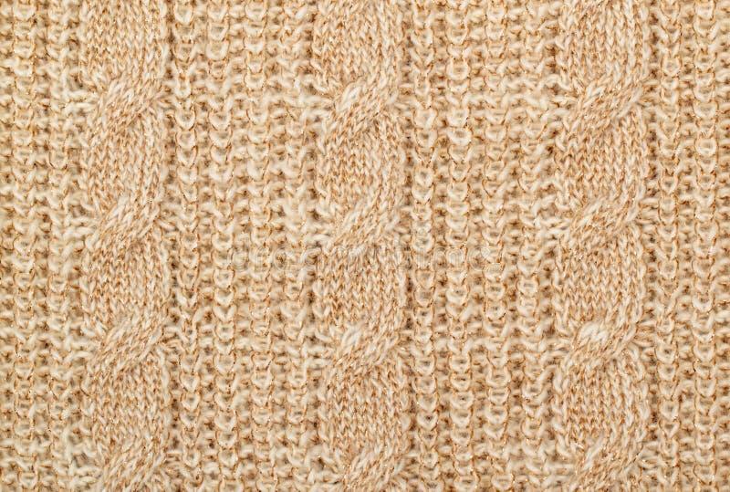 编织羊毛纹理 图库摄影