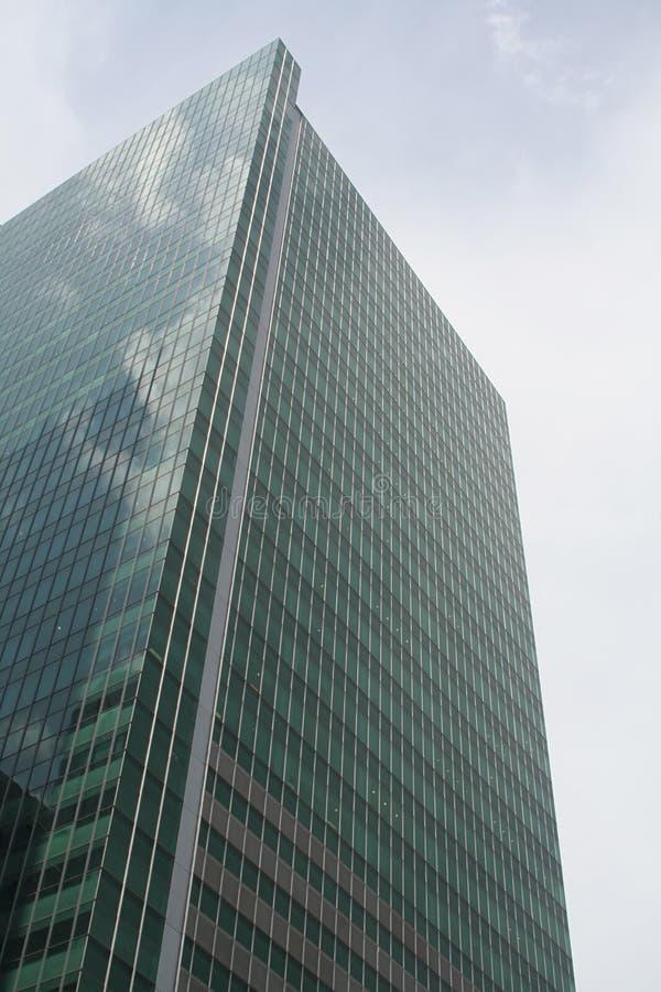 编译的商业上升的天空摩天大楼 库存图片