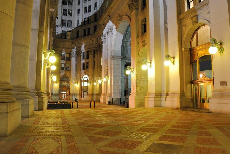 编译的市政广场 免版税库存照片
