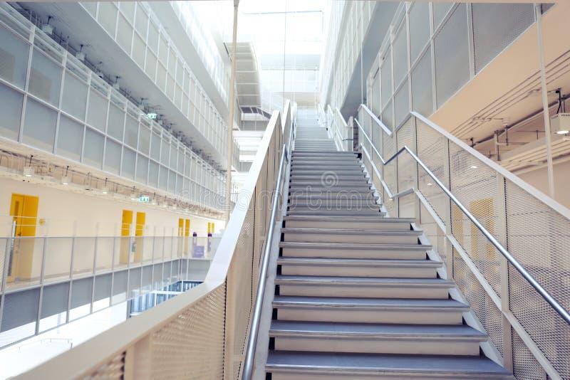 编译的现代楼梯 库存照片
