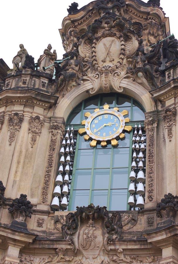 编钟pavillon - I -德累斯顿-德国 库存照片