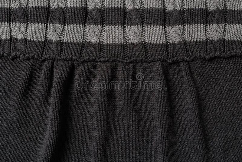 编织羊毛布料 库存图片