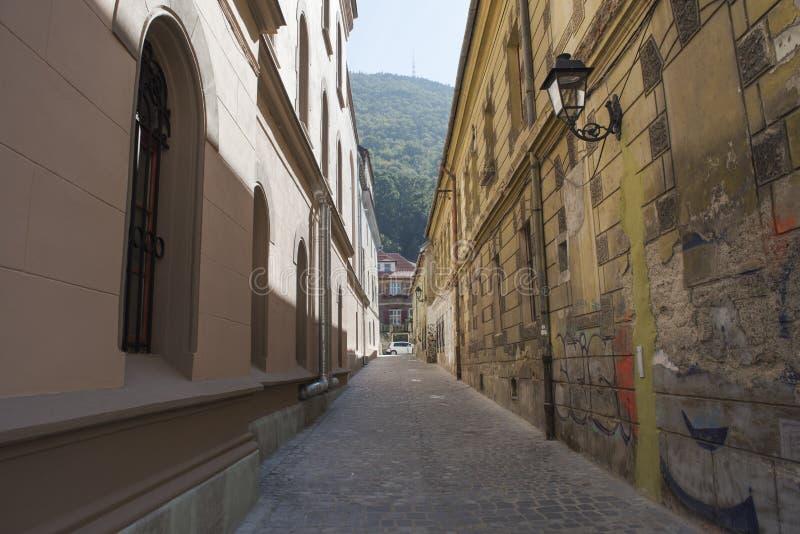 缩小的街道 免版税图库摄影