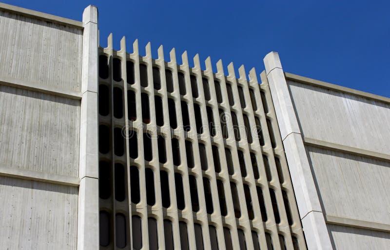 缪尔霍尔,加州大学圣地亚哥分校面部修造的外部  免版税库存照片