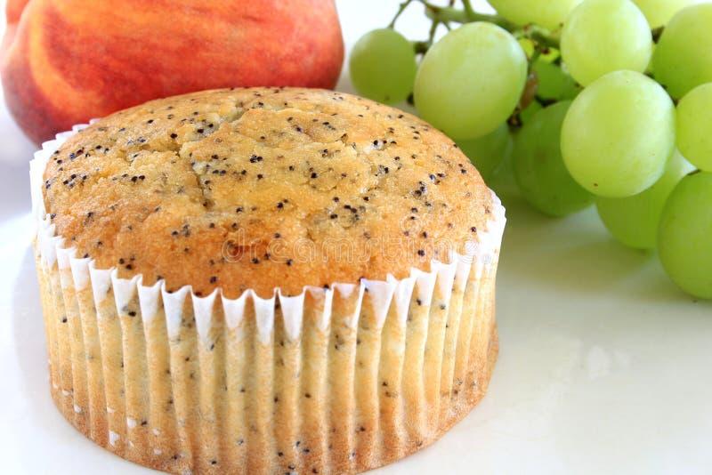 罂粟种子松饼 库存图片