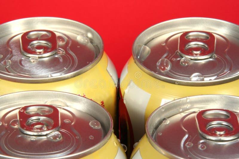 罐头四碳酸钠 库存图片