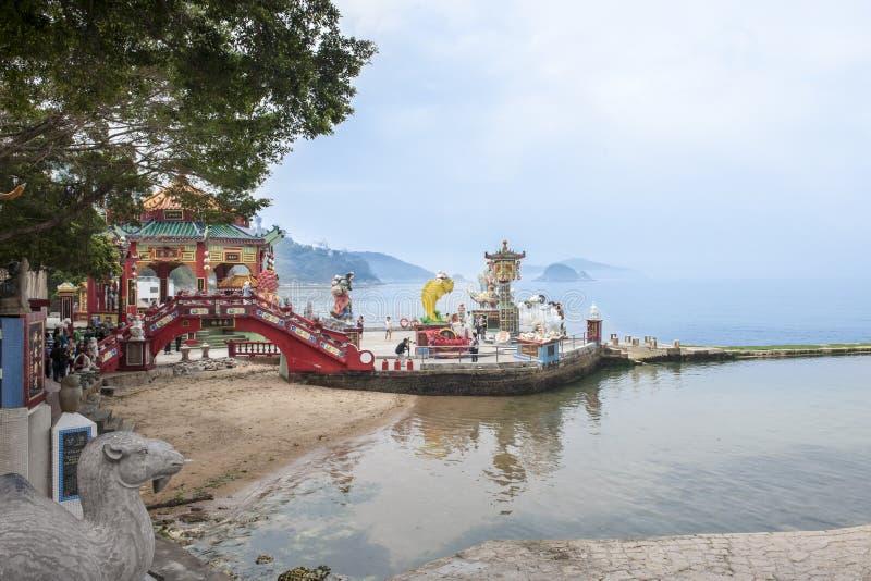 罐子Hau寺庙在香港 免版税库存图片