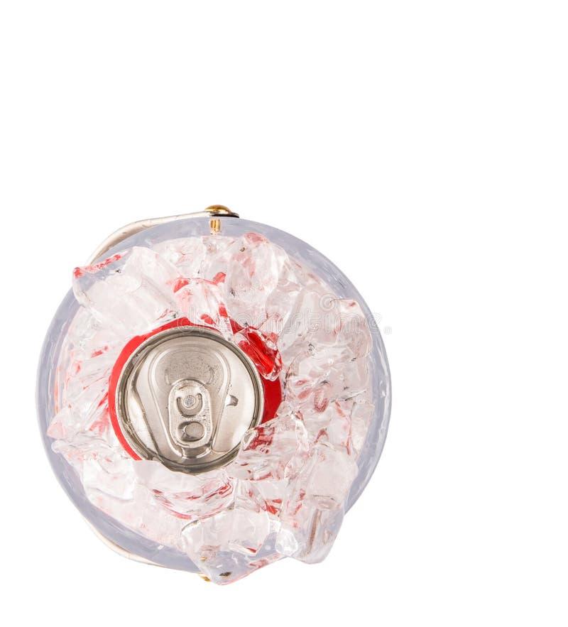 罐装可乐喝VI 库存照片