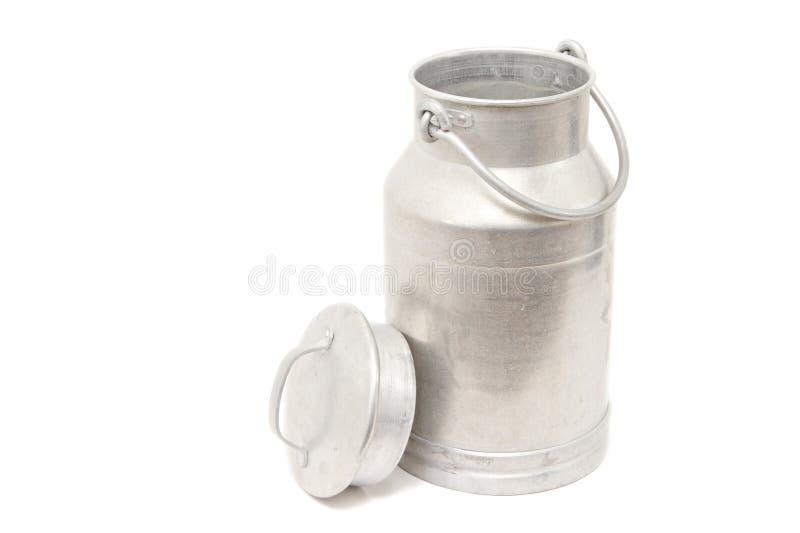 罐装牛奶 免版税图库摄影