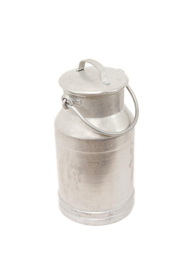 罐装牛奶 免版税库存图片