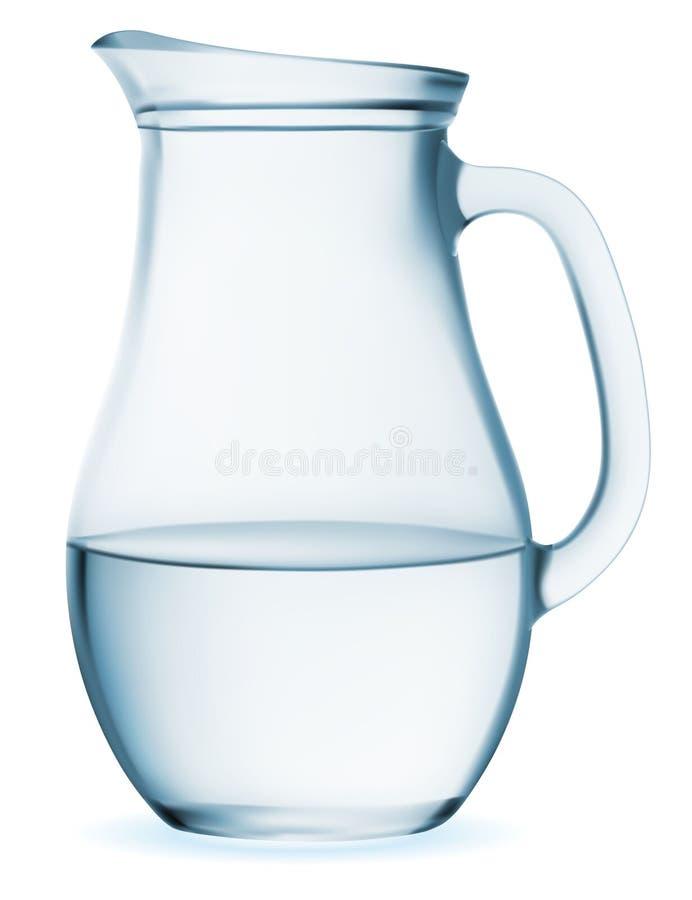 水罐 皇族释放例证