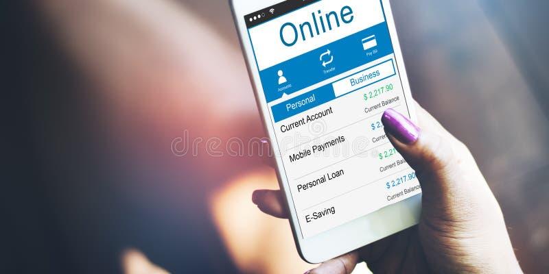 网上互联网社会网络连接概念 免版税图库摄影