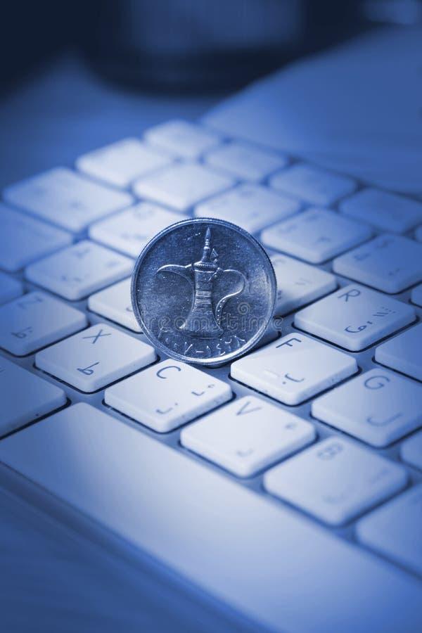 网上交易概念 免版税图库摄影
