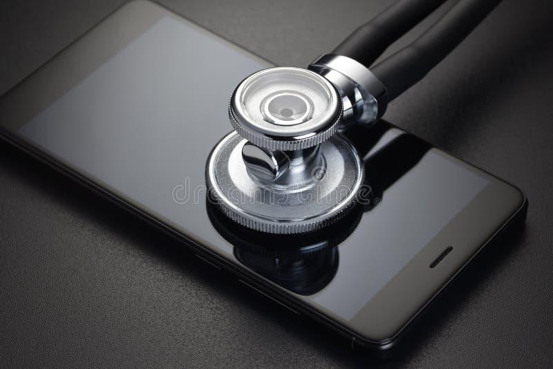 网上医疗诊断 库存图片