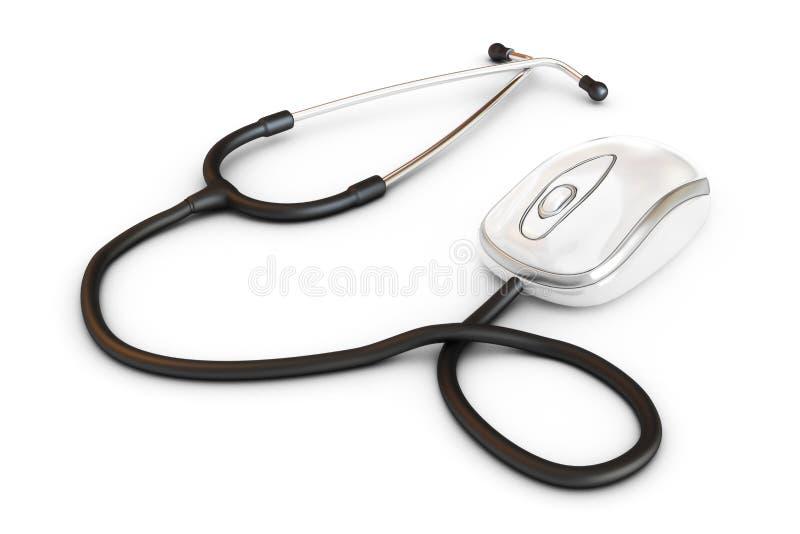 网上医疗。 库存照片