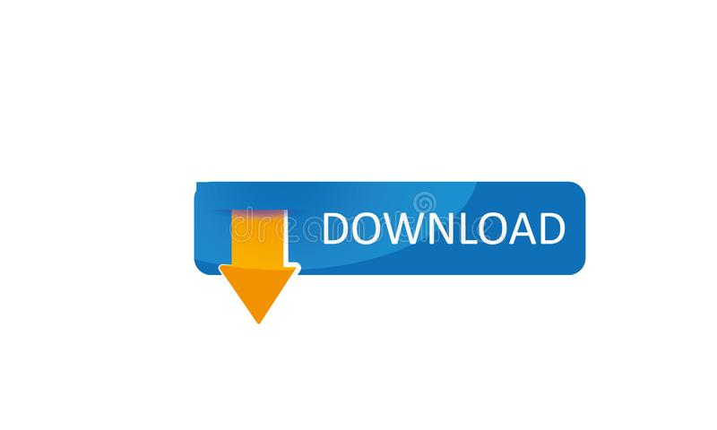 网下载商标模板-网下载象-网下载标志新的新略写法 向量例证
